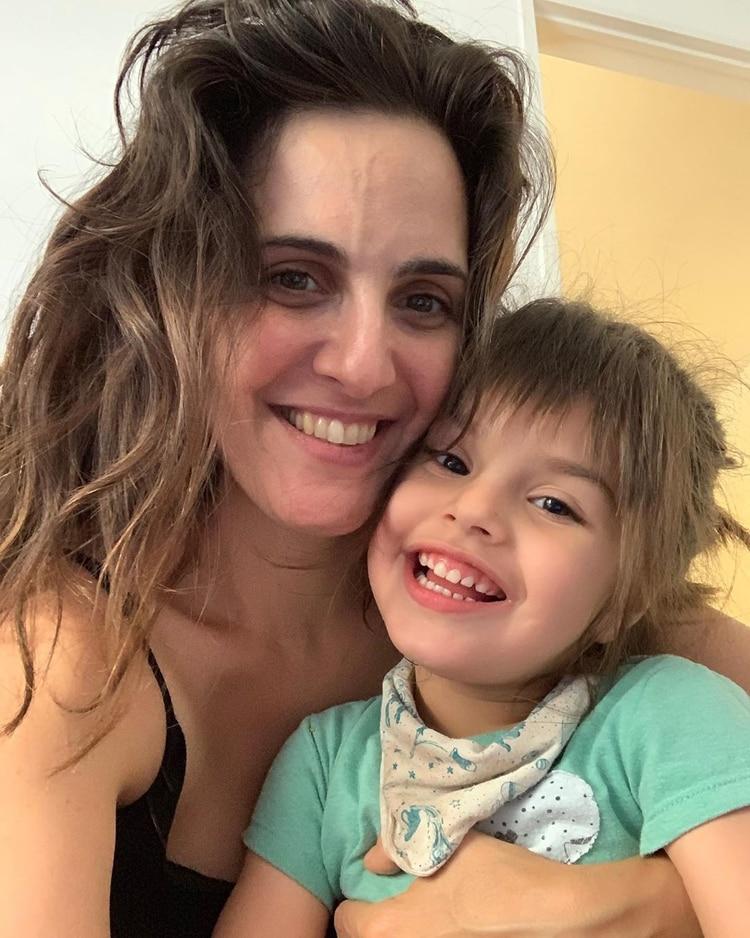 Julieta Díaz y Elena Antonia (Instagram)