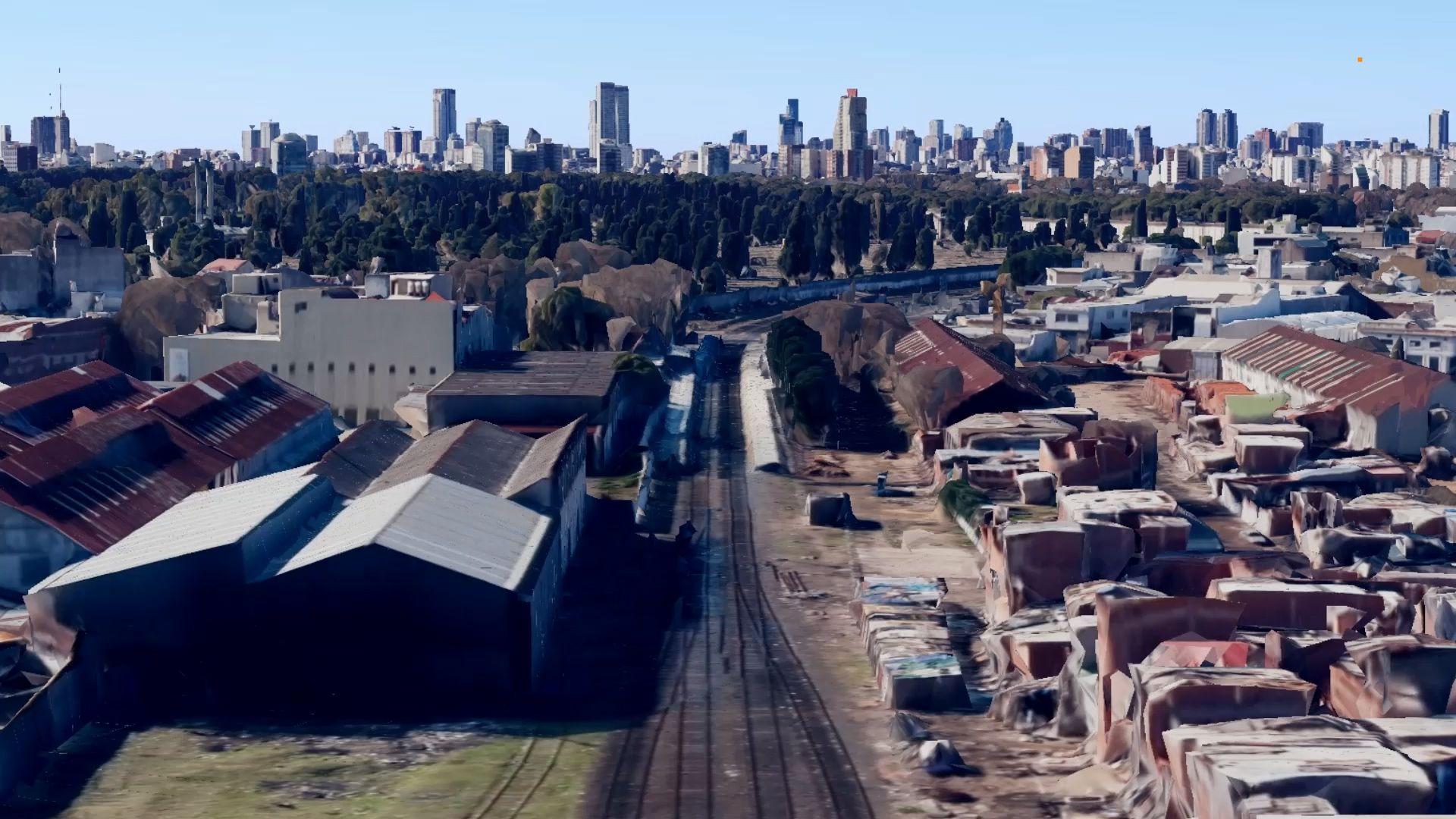 El viaducto del Ferrocarril San Martín tiene estaciones inconclusas