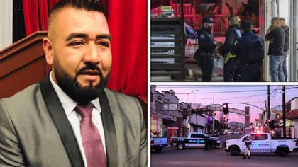 El regidor y presidente de la Comisión de Seguridad del Cabildo de Tecate, Alfonso Zacarías, fue asesinado (Foto: Especial)