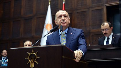 Recep Erdogan, presidente de Turquía (EFE)