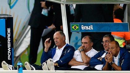 Scolari calificó aquella derrota ante Alemania como la peor de su trayectoria deportiva (AFP)