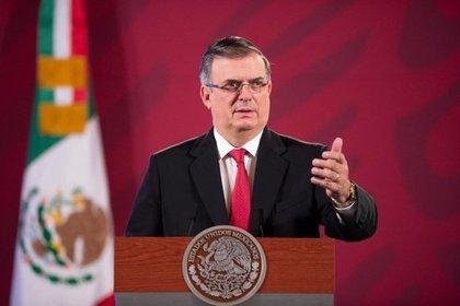 Foto de archivo: 24/08/2020. El secretario de Relaciones Exteriores de México, Marcelo Ebrard (POLITICA CENTROAMÉRICA MÉXICO SRE MÉXICO)