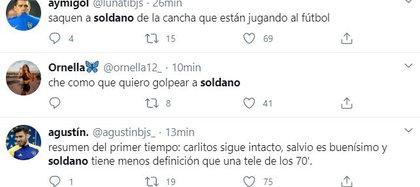 Franco Soldano erró un gol y estallaron los memes