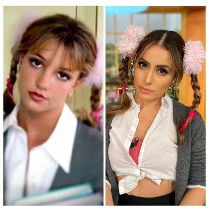 La comparación de la estadounidense con la presentadora mexicana desató críticas y elogios (Foto: Instagram @vengalaalegriatv)