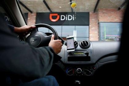 DiDi anunció que ofrecería viajes de 20 pesos en los tiempos con menor demanda (Foto: REUTERS/Carlos Jasso)