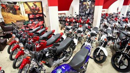 En el primer cuatrimestre la venta de motos creció 45%.  (Honda)