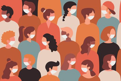 """""""El contacto sexual conlleva cierto riesgo de exposición a la infección por coronavirus 2 del síndrome respiratorio agudo severo durante la pandemia de la enfermedad por coronavirus 2019"""" (Shutterstock)"""