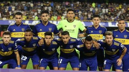Otro de los titulares de Boca está en la mira de otro equipo (Fotobaires)