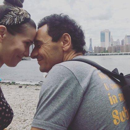 La pareja no suele exhibir su intimidad, pero a poco de haber inaugurado su cuenta en Instagram, Oreiro se animó a compartir su amor por el padre de su hijo (Foto: Instagram)