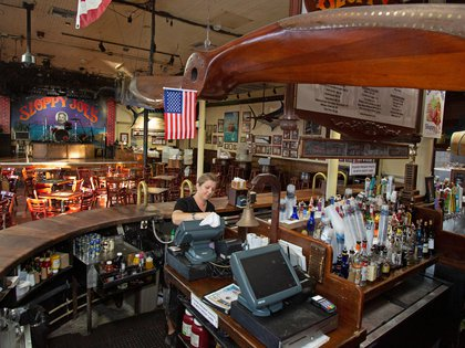 Un bar en Key West, Florida (Carol Tedesco/Florida Keys News Bureau/Reuters)