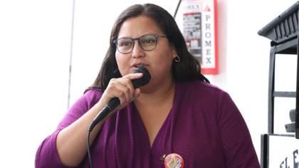 La senadora de Morena consideró que una de las causas del atentado fueron los temas que ha tratado (Foto: Twitter@CitlaHM)