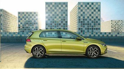 Un llamativo color para el lanzamiento de la octava generación (Volkswagen)