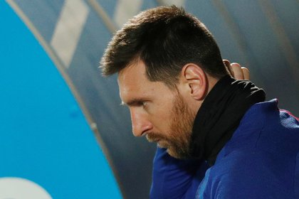 Soccer Football - La Liga Santander - FC Barcelona Training - Ciutat Esportiva Joan Gamper, Barcelona, Spain - December 17, 2019  Barcelona's Lionel Messi during training  REUTERS/Albert Gea