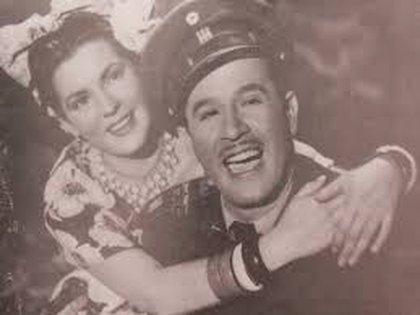 Irma Dorantes y Pedro Infante comenzaron su romance cuando ella tenía 16 y el 32 años (Foto: Twitter)