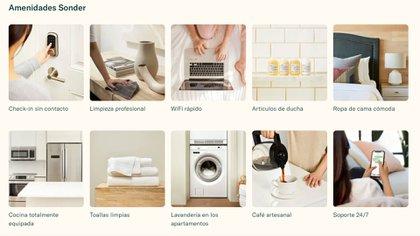 El objetivo de Sonder es que los usuarios disfruten una cómoda estancia corta en apartamentos como si fueran hoteles de lujo