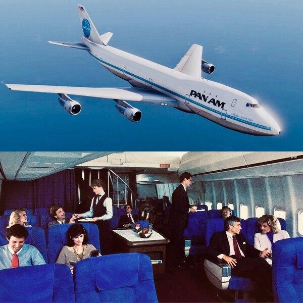 Un 747 de la hoy desaparecida Pan Am