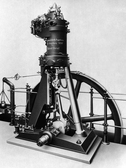El primer motor Diesel