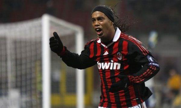 Dinho, en el Milan (AP)