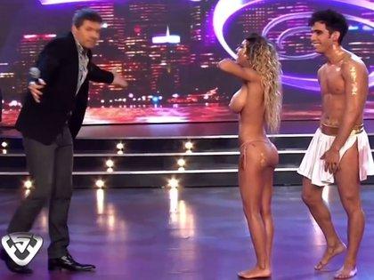 """Fernández reconoció que le encantaría regresar al """"Bailando"""", donde supo ser protagonista junto a Gabo Usandivaras"""