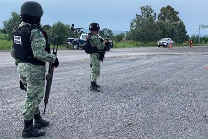 02/08/2020 Guardia Nacional de México..  El Ejército mexicano ha detenido en el estado mexicano de Nuevo León a Evaristo Cruz Sánchez, alias 'El Vaquero', presunto líder del Cártel del Golfo y uno de los delincuentes más buscados por la Fiscalía General de Justicia de Tamaulipas.  POLITICA  EL UNIVERSAL / ZUMA PRESS / CONTACTOPHOTO