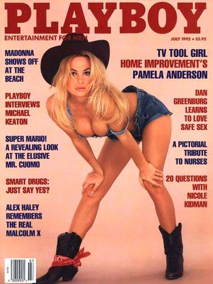 """Pamela Anderson fue tapa de """"Playboy"""" en varias oportunidades"""