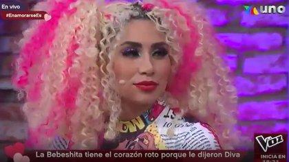 Bebeshita dijo que Pedro Sola le rompió el corazón (Captura de pantalla)