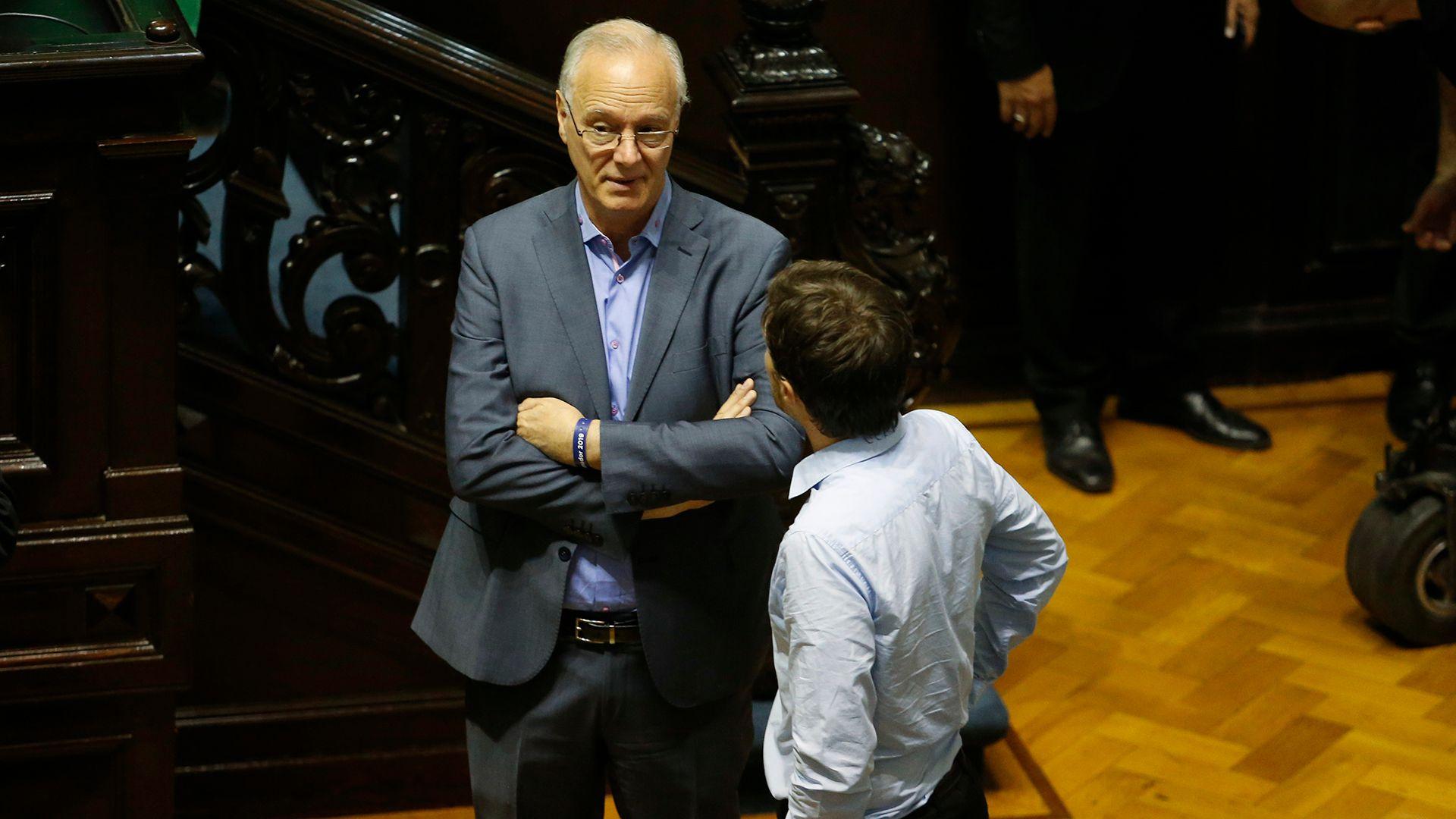 Daniel Gollán. Mañana jurará como Ministro de Salud (Nicolás Aboaf)