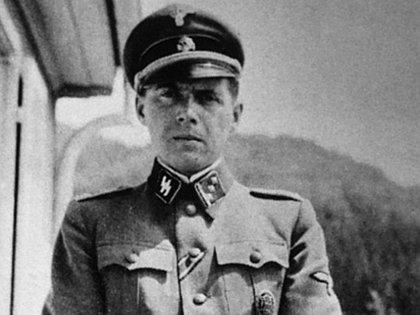 Josep Mengele, durante la época de Auschwitz