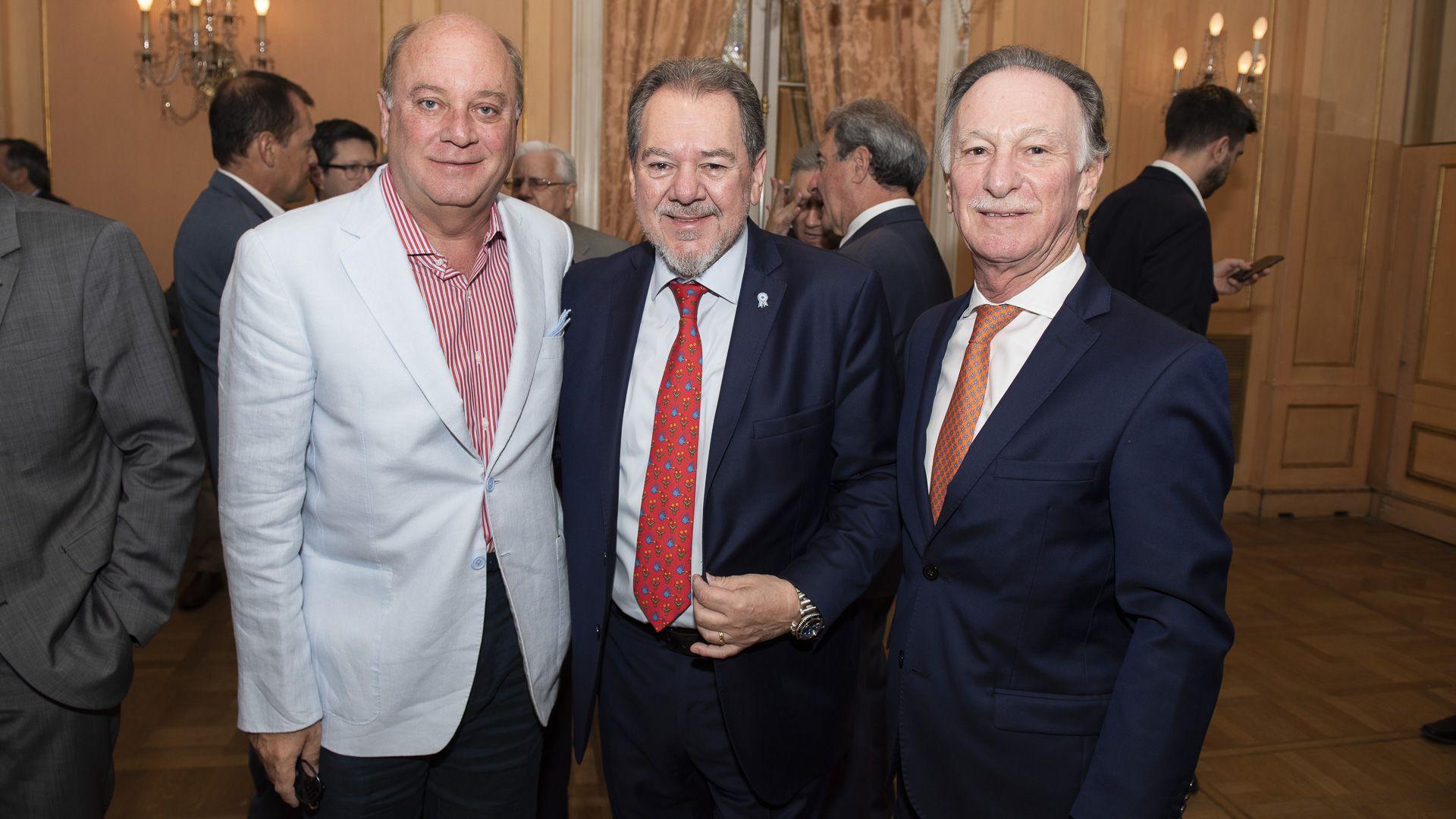 Martín Cabrales, Mario Montoto y Gustavo Weiss