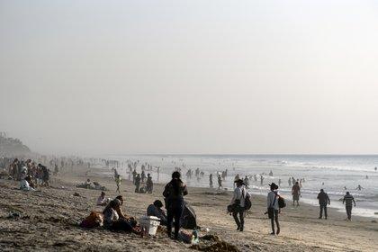 El estado de Baja California se encuentra en alerta naranja y se mantiene con muchas restricciones aunque ya ha reabierto playas y cuestiones turísticas (Foto: Guillermo Arias / AFP)