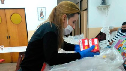 Lo donado ayudará a las familias venezolanas más necesitadas