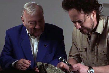 Junto a Giorgio Tsoukalos, uno de los continuadores de la teoría de los alienígenas ancestrales
