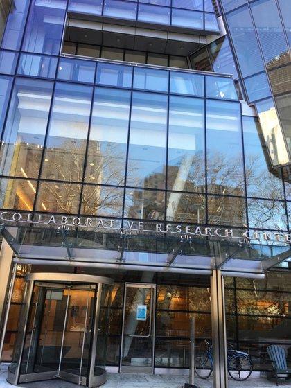 El laboratorio ubicado en la Rockefeller University, donde se estudia este avance genético (M. Balbi)