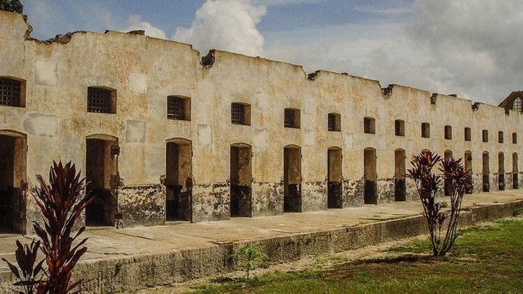 La cárcel de Isla del Diablo funcionó entre 1852 y 1938.