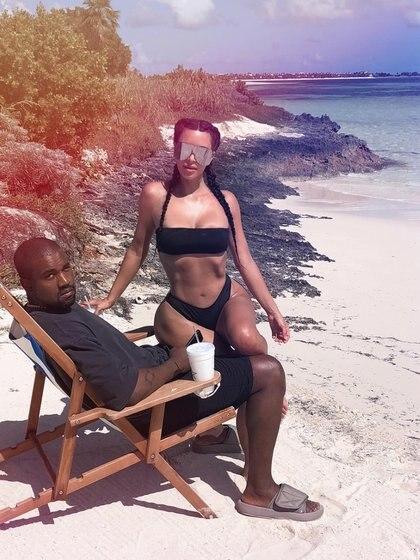 La pareja se transportó hasta la República Dominicana (Foto: Instagram)