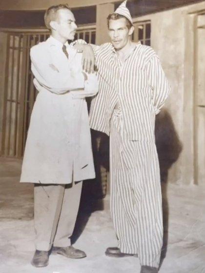 """Ramón y Manuel """"El Loco"""" Valdés (Foto:  Instagram/miguelvaldesfotografia)"""