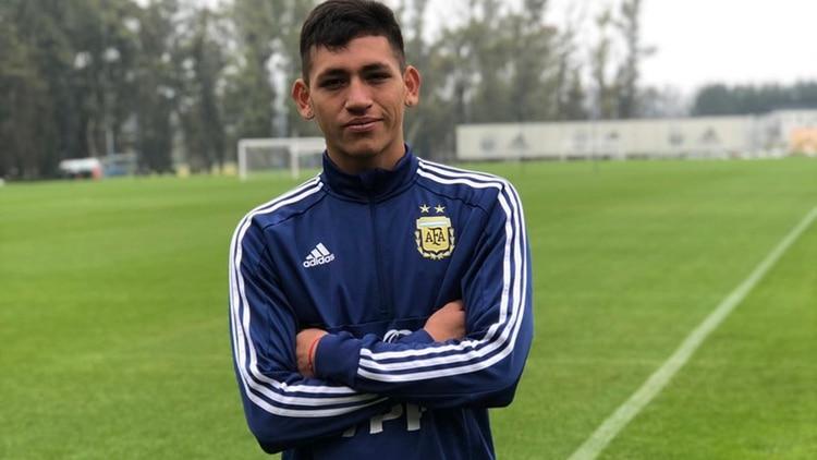 El nuevo futbolista de Boca es habitualmente citado a las selecciones juveniles