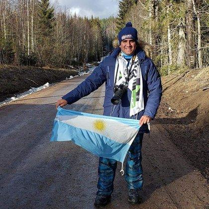 """En febrero Facundo Ahumada fue a cubrir el famoso Rally de Suecia. """"Era el sueño de mi vida"""", apunta el fotógrafo (@facundo_ahumada_fotografía) de 27 años en charla con Infobae."""