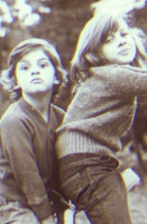 Victoria Branca y su hermano Lolo (Gentileza Victoria Branca)