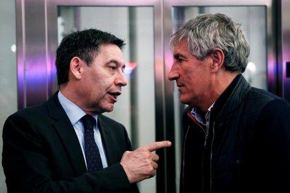 Presidente del FC Barcelona se enfurece con un jugador