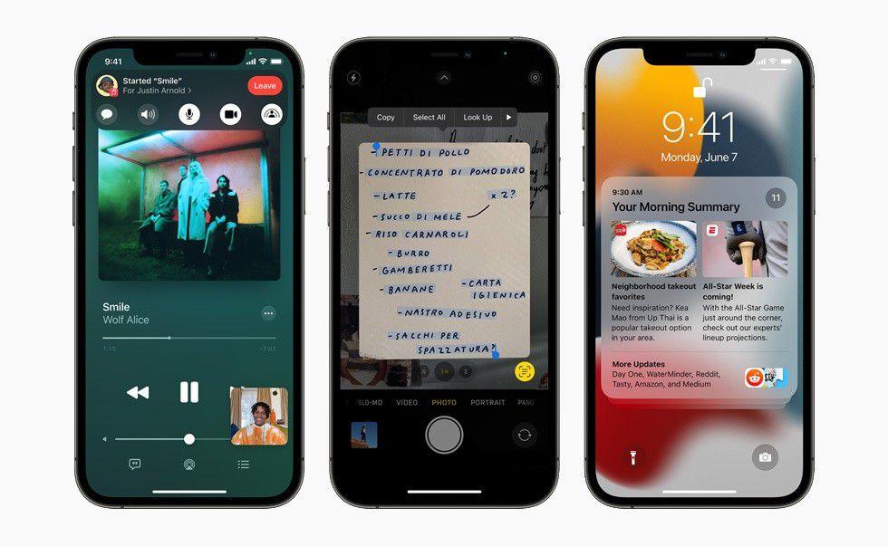 Apple habilitó la descarga de su beta pública de iOS 15