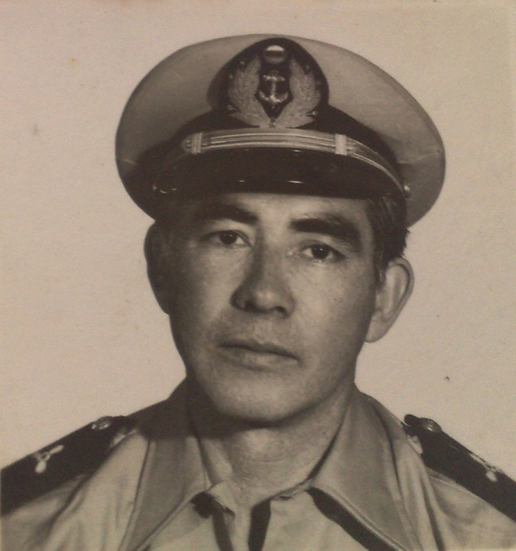 Miguel Aguirre murió en el ARA Isla de los Estados