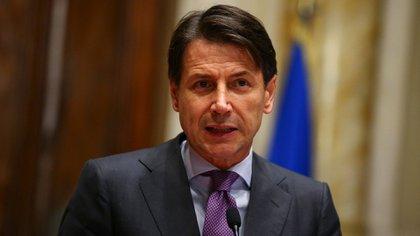 El primer ministro de Italia Giuseppe Conte (Reuters)