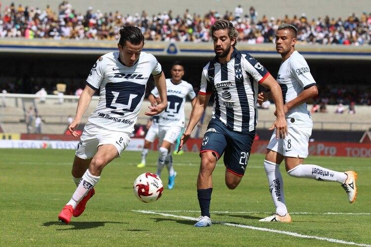 El último partido de Pizarro fue contra los Pumas (Foto: Cuartoscuro)