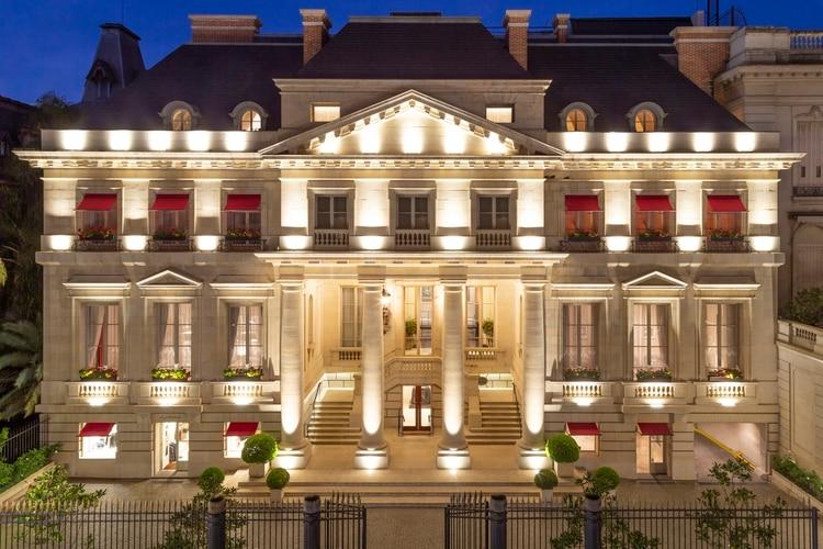El Duhau - Park Hyatt Buenos Aires es un hotel 5 estrellas ubicado en el barrio porteño de Recoleta (Park Hyatt Buenos Aires)