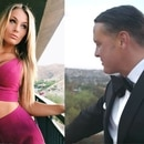 La novia corista de Luis Miguel posa como estrella de televisión en los lugares que ha conocido con el mexicano (Foto: Instagram foreveramollie, YouTube Luis Miguel)