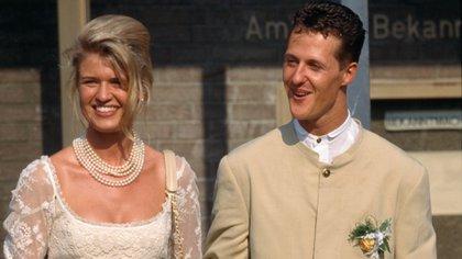 Michael y Corinna se casaron en 1995