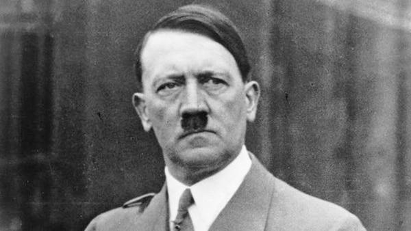 Adolf Hitler, líder de la Alemania nazi entre 1933 y 1945