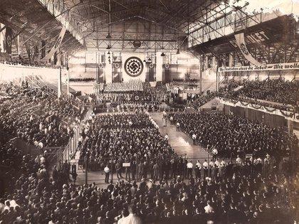 Miles de personas estuvieron ese día en el Luna Park