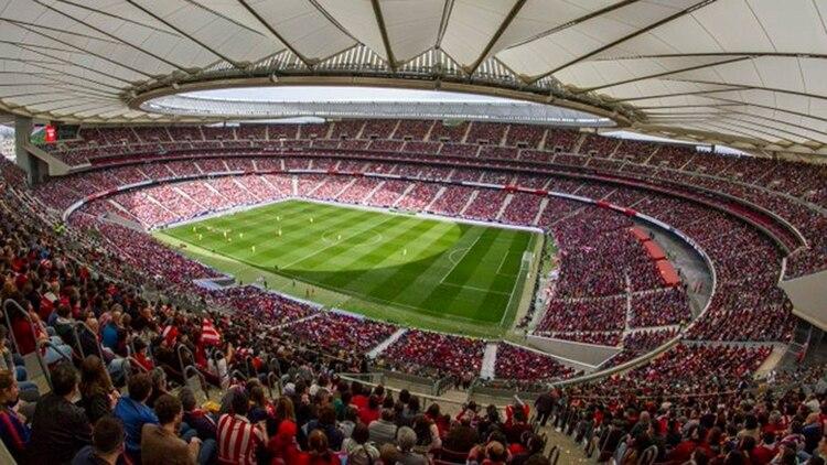 La final de marzo pasdo entre Atlético Madrir y Barcelona reunió a 60 mil personas en el Wanda Metropolitano. Pero los partidos de liga suelen tener muy pocos espectadores en las tribunas